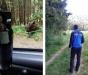 Era la lacul Sfânta Ana şi a vrut să facă un selfie cu un urs...