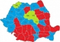 Harta politică a câștigătorilor la președinția consiliilor județene, PSD în avantaj față de PNL