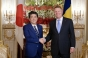 Japonia: Preşedintele Klaus Iohannis, primit de prim-ministrul nipon Shinzo Abe