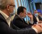 Ludovic Orban surprins fumând din nou într-o sală de şedinţă din Guvern