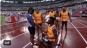 O atletă nevăzătoare, cerută în căsătorie de ghidul ei imediat după terminarea cursei de 200 metri