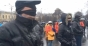 Piata Victoriei: Legati la ochi, au protestat fata de modificarea legilor justitiei