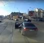 Politia a deschis dosar penal pentru distrugere in cazul vatmanului care a impins o masina cu tramvaiul