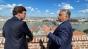 Prezentatorul vedetă al Fox News Tucker Carlson la Budapesta. Politologul conservator Rod Dreher s-a mutat în capitala Ungariei