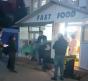 Scene horror la spitalul din Sibiu: mortii de COVID-19, bagati in sicrie in fata bolnavilor care erau tratati intr-un chiosc fast-food