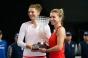 Simona Halep și Irina Begu au ratat calificarea în sferturile de finală ale turneului de dublu de la Miami