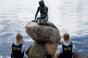 """Statuia Mica Sirenă din Copenhaga, numită """"peşte rasist"""""""