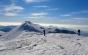 Turist recuperat de salvamontişti după ce a dormit două nopţi sub cerul liber în apropierea Vârfului Omu