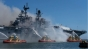 Un marinar american acuzat de incendiul spectaculos care a distrus o navă militară în 2020