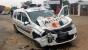 Un şofer băut a intrat, sâmbătă seara, cu maşina într-o autospecială a Serviciului Poliţiei Rutiere.
