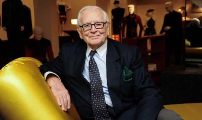 A murit creatorul de modă Pierre Cardin. Avea 98 de ani