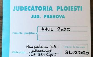 ANUL 2020 a fost condamnat de Judecatoria Ploiesti. Are de platit si cheltuieli de judecata