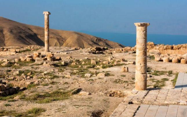 Descoperire arheologica fabuloasa de Craciun: Curtea tronului lui Irod unde Salomeea a cerut capul lui Ioan Botezătorul