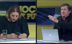 Diana Șoșoacă l-a făcut praf și pulbere pe Grigore Cartianu în direct la TV