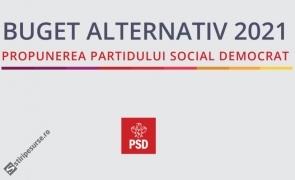 Document privind Bugetul alternativ PSD: Pensie minimă de 1.000 de lei din martie 2021