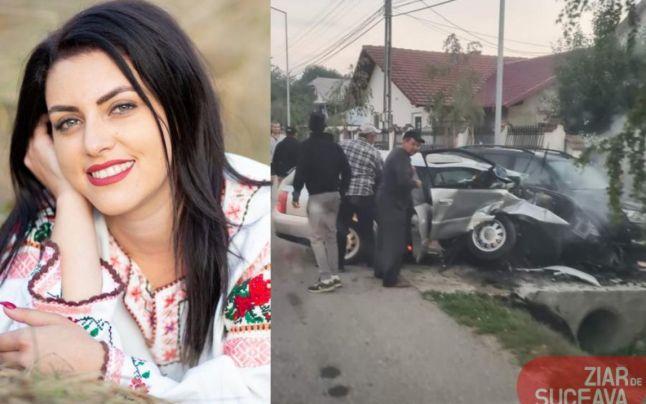 Doliu în lumea interpreţilor de muzică populară: o cântăreaţa de 23 de ani a murit într-un cumplit accident