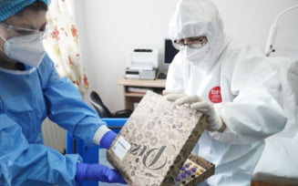 Dozele de vaccin anti-COVID-19 au fost livrate in judetul Ialomita in cutii de pizza