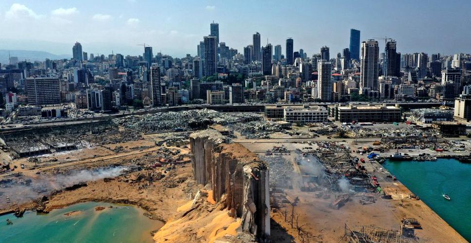 Explozia din Beirut a fost atât de violentă încât a perturbat ionosfera Pământului