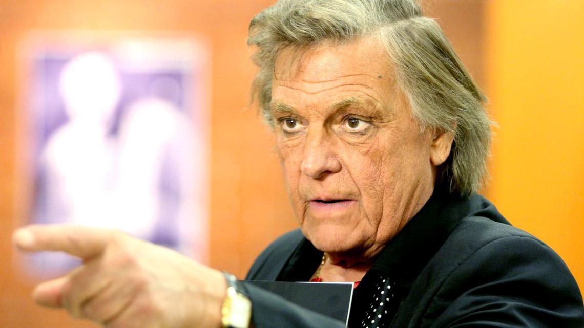 """Florin Piersic în direct la TV la 84 de ani: """"Mi-e frică de moarte!"""""""