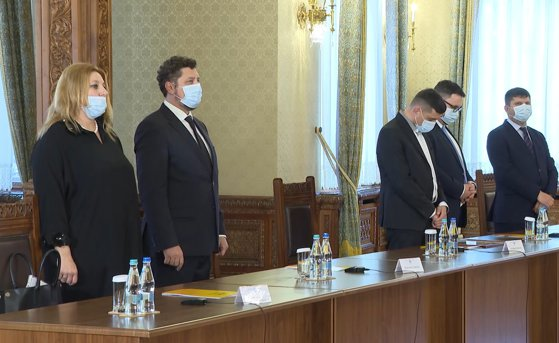 """George Simion, despre consultarea cu Iohannis: """"cu mândria-i rece mut sta suveranul"""""""