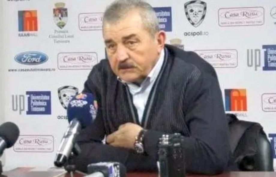 Ionut Popa in stare grava in spital. Antrenorul care a salvat-o de la retrogradare pe ACS Poli Timisoara a suferit un stop cardio respirator