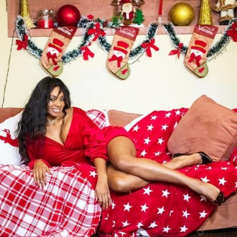 """Laurette """"a băgat"""" fotografii provocatoare cu câteva zile înainte de Crăciun!"""