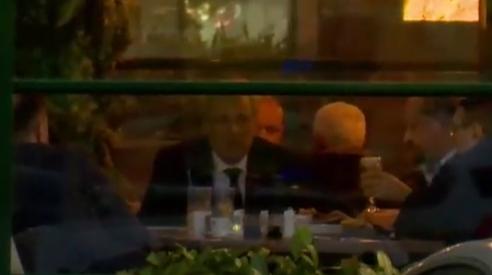 """Marcel Vela se apără după ce a fost filmat la o """"terasă"""" cu 4 pereți: """"Dacă nu are acoperiş este deschisă."""" Prefectul Capitalei: Mi se pare revoltător!"""