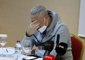 """Marius Sumudica a plecat in lacrimi de la Gaziantep. Romanul si-a cerut iertare: """"Nu mai sunt puternic ca un turc, pentru ca plang"""""""