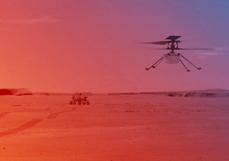 NASA va testa primul zbor al unui elicopter pe Marte cu o atmosfera 1% din cea terestra