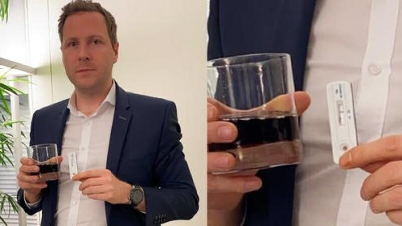 O sticla nedesfacuta de Cola testata pozitiv la Covid-19. Experimentul unui deputat care spune ca testele sunt inutile