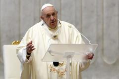 """Papa Francisc de Paștele Catolic: """"La ceas de întuneric, să nu ne temem!"""""""