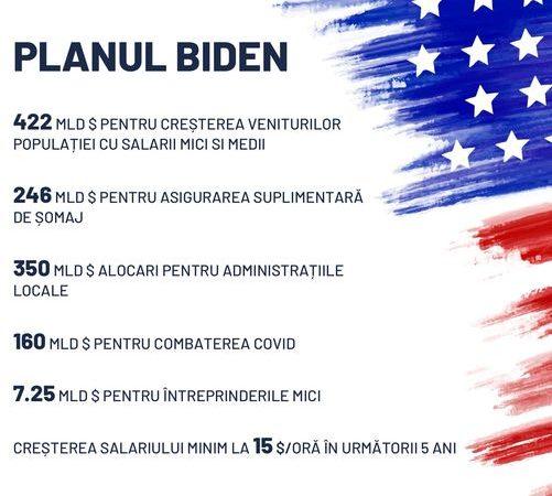 Planul lui Biden seamănă cu cel al PSD susține Marcel Ciolacu