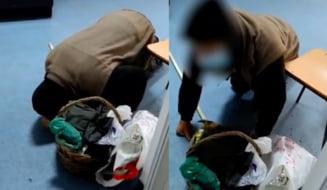 Sanctiuni rusinoase pentru medicul de garda si asistenta de la Spitalul Corabia unde un batran a fost filmat cum cere ajutor