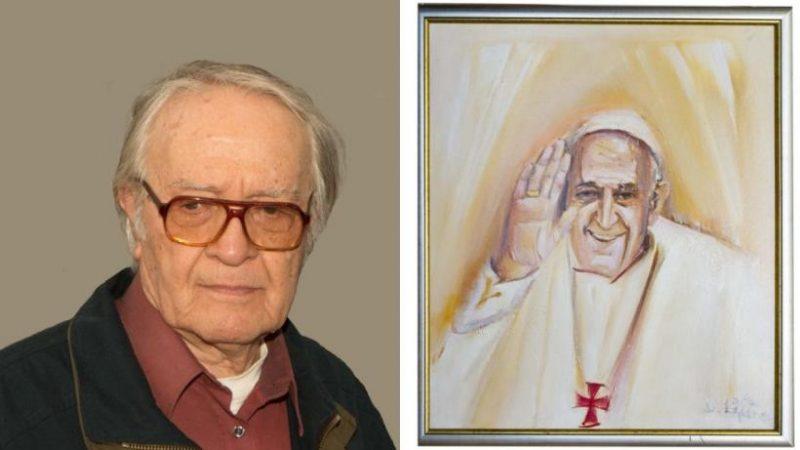 Strigator la Cer! Românul portretist al Papei înmormântat ca un borfaș in preajma Paștelui Catolic