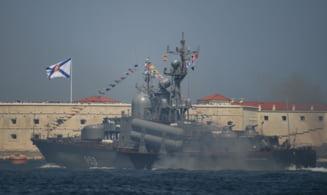 Tensiunile cu Ucraina: Rusia aduce inca zece nave de razboi in Marea Neagra. Vedete de desant transferate din Marea Caspica