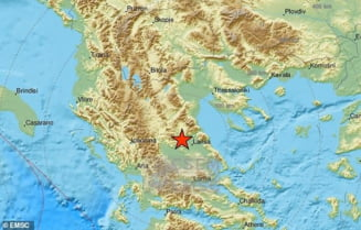 Un puternic cutremur a lovit Grecia. Seismul de 6,3 grade a fost resimtit in toata regiunea Balcanilor inclusiv Romania