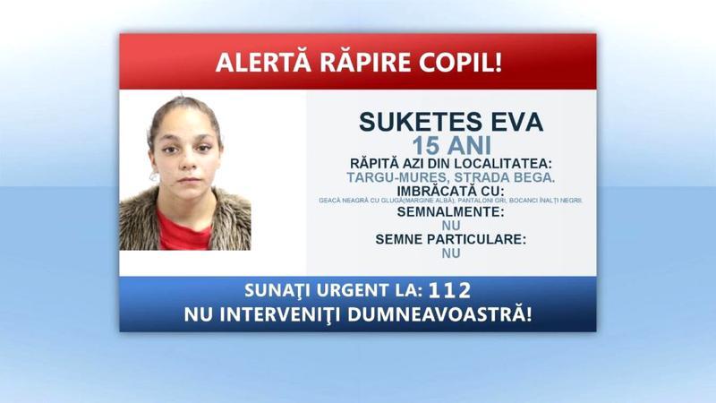 O fată de 15 ani a fost răpită de pe stradă, în Târgu Mureș! Persoane necunoscute au urcat-o într-un Audi gri